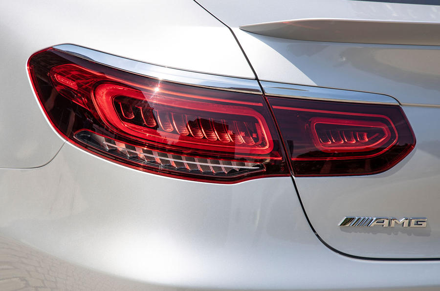 Mercedes-AMG GLC 63 S Coupé 2019 first drive review - rear lights