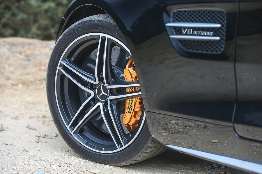 Mercedes-AMG GT C 2018 first drive review alloys