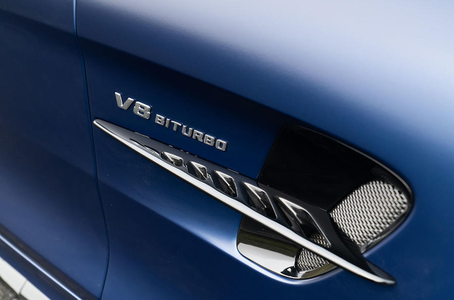 Mercedes-AMG GT R Roadster 2019 UK first drive review - air vents