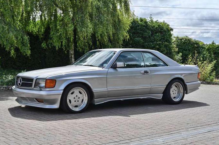 Mercedes-Benz 560 SEC AMG - front