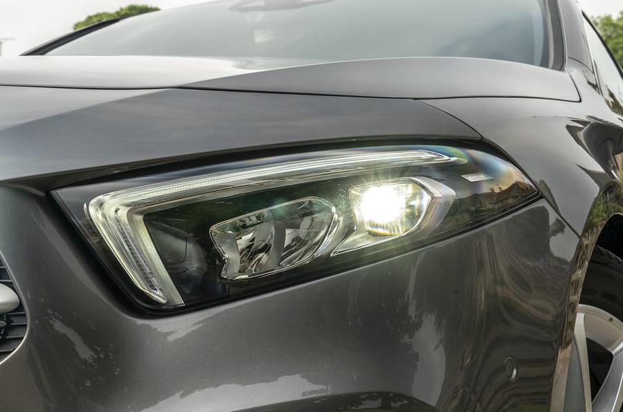 Mercedes-Benz A-Class A180 SE 2019 first drive review - headlights