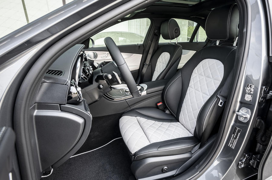 Mercedes-Benz C-Class C200 2018 review cabin