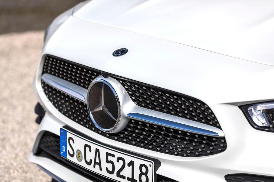 Mercedes-Benz CLA 2019 first drive review - front bumper