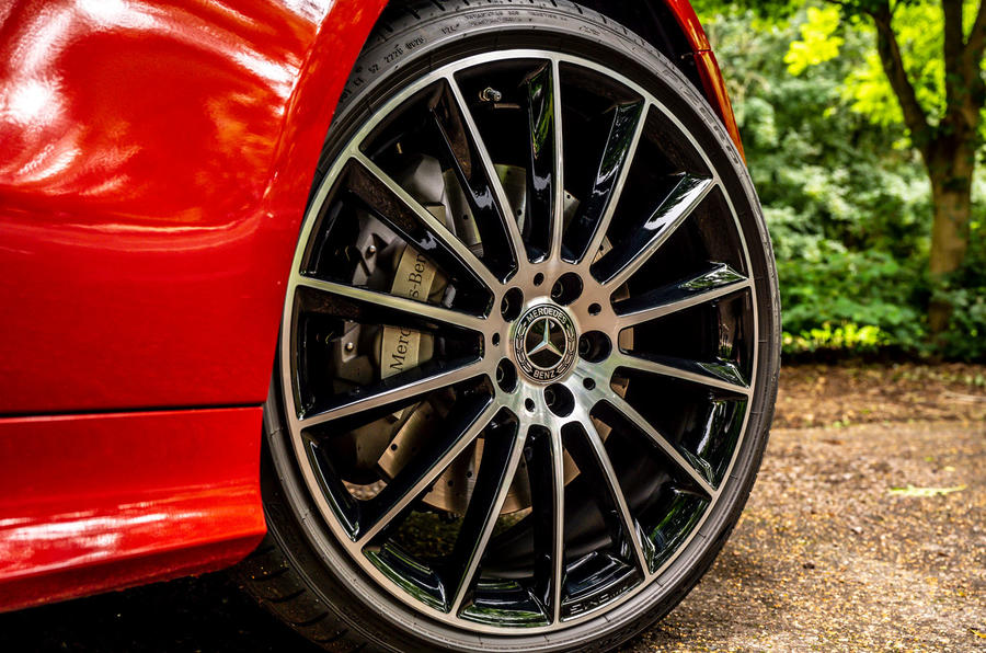 Mercedes-Benz E-Class e450 Cabriolet 2020 UK first drive review - alloy wheels
