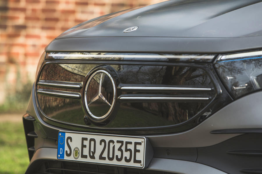 4 Mercedes Benz EQA 2021 : premier examen de conduite au Royaume-Uni