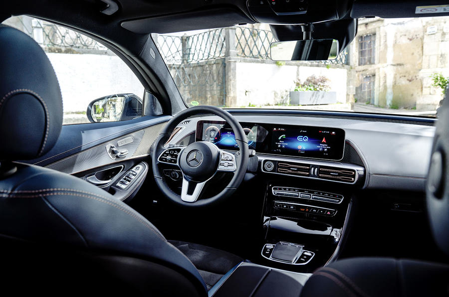 Mercedes-Benz EQC 2019 first drive - cabin