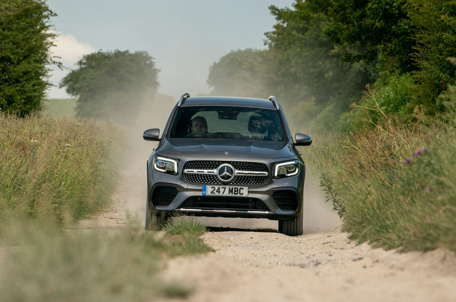 Mercedes-Benz GLB 2020 UK first drive review - off road