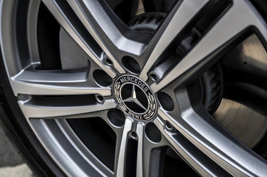 Mercedes-Benz GLC 220d 2019 UK first drive review - alloy wheels