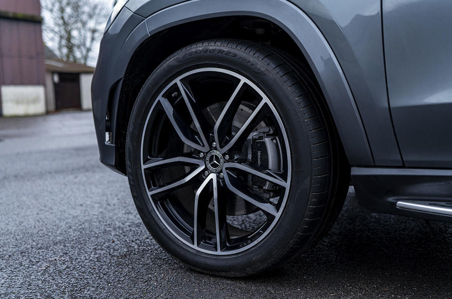 Mercedes-Benz GLS 400d 2019 UK first drive review - alloy wheels