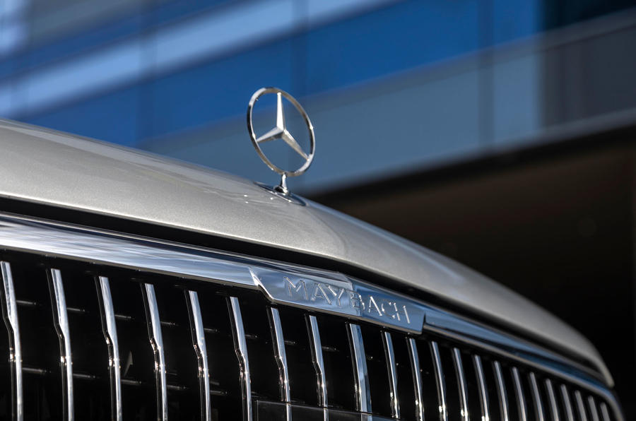 Mercedes-Maybach GLS 600 2020 first drive review - nose badge