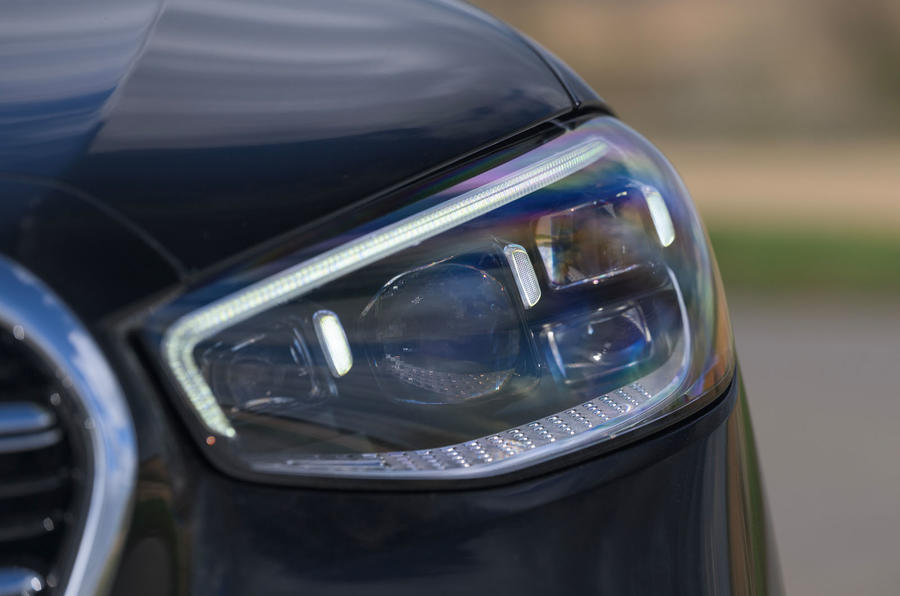 4 phares de la Mercedes Classe S S400d 2021 UE FD