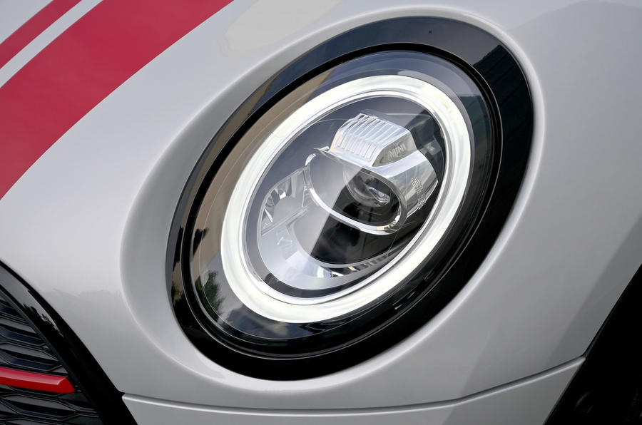 Mini Clubman John Cooper Works 2019 first drive review - headlights