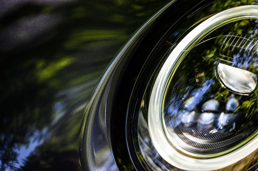 Mini JCW GP 2020 UK first drive review - headlights