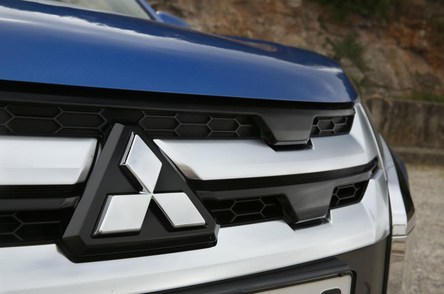 Mitsubishi ASX 2019 first drive review - front grille