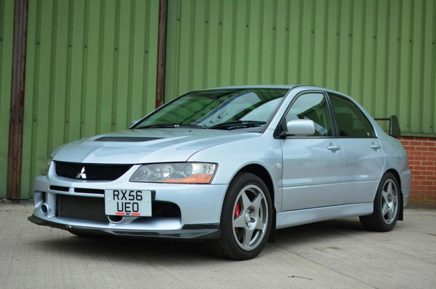 Mitsubishi Lancer Evolution - front