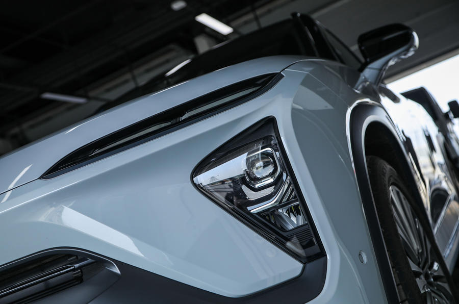 Nio ES6 2019 first drive review - headlights