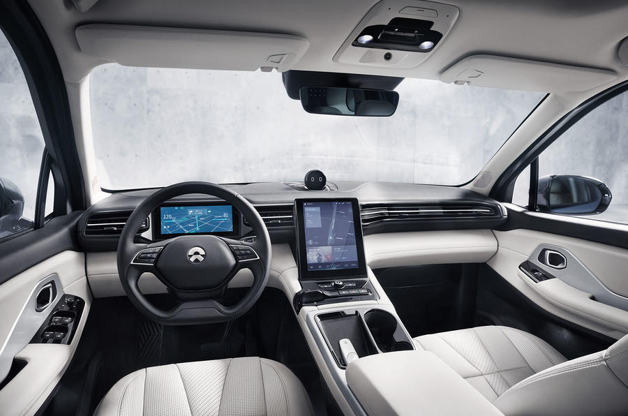 Nio ES8 2018 first drive review - dashboard