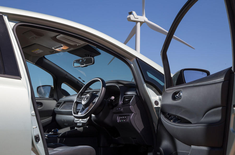 Nissan Leaf 2nd generation (2018) long-term review cabin
