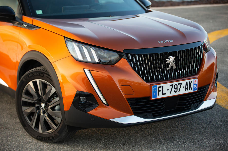 Peugeot 2008 2020 first drive review - front end