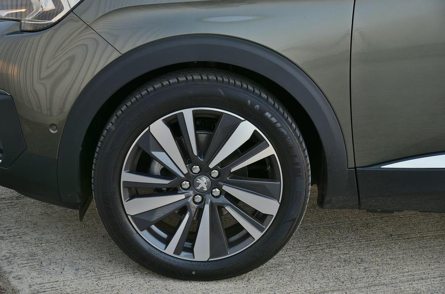 Peugeot 5008 2018 long-term review alloy wheels