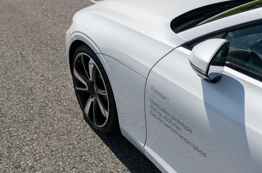 Polestar 1 2019 first drive review - verification decals