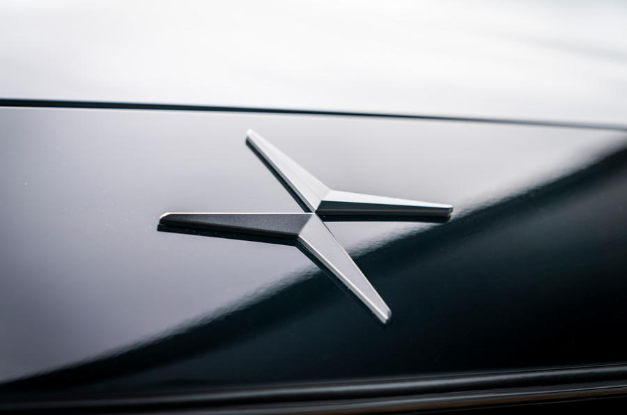 Polestar 2 2020 UK first drive review - nose
