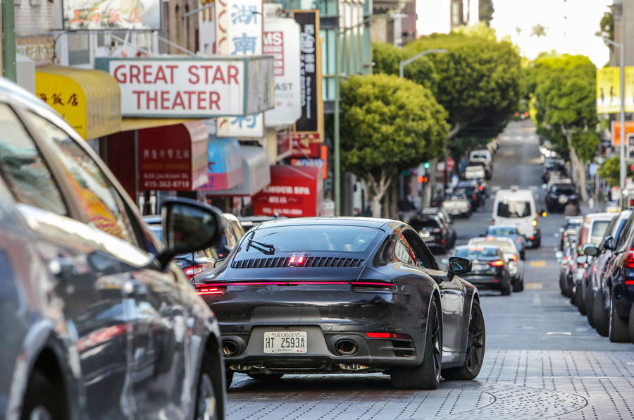 2019 Porsche 911 prototype first ride - San Francisco