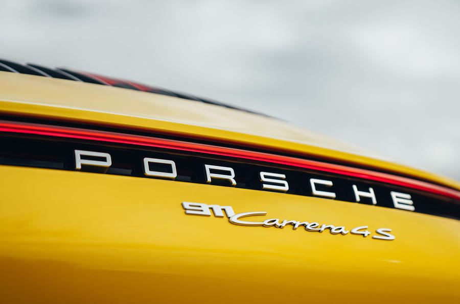 Porsche 911 Carrera 4S 2019 UK first drive review - rear light bar