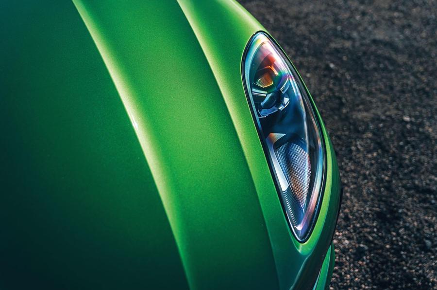 Porsche Macan 2019 first drive review - headlights