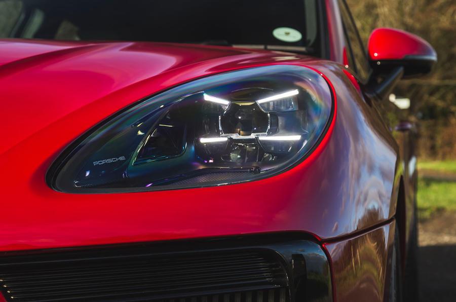 Porsche Macan GTS 2020 UK first drive review - headlights