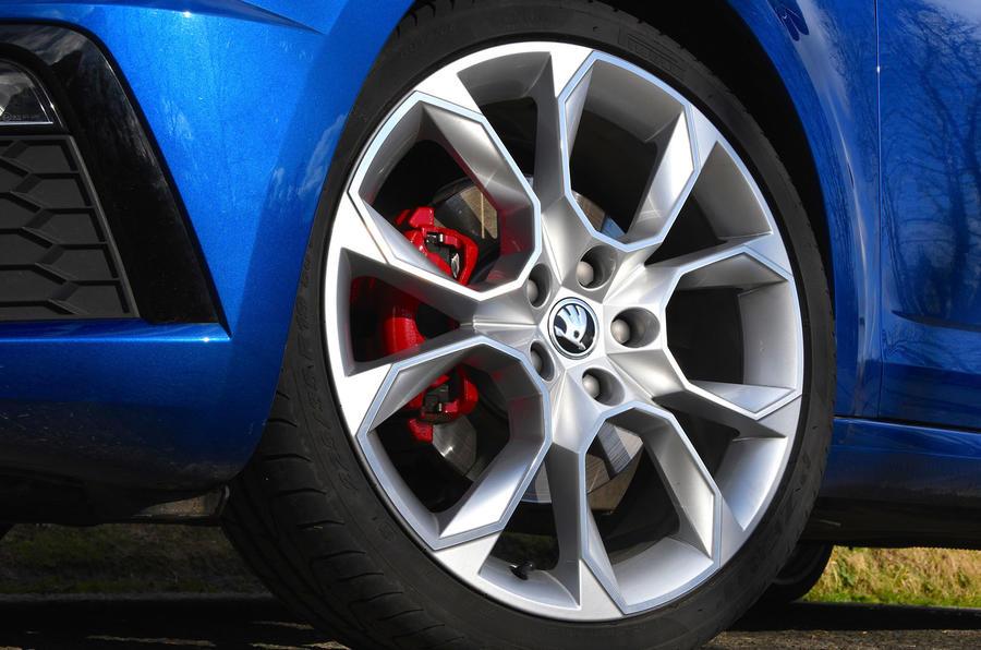 Skoda Octavia vRS diesel longterm review alloy wheels