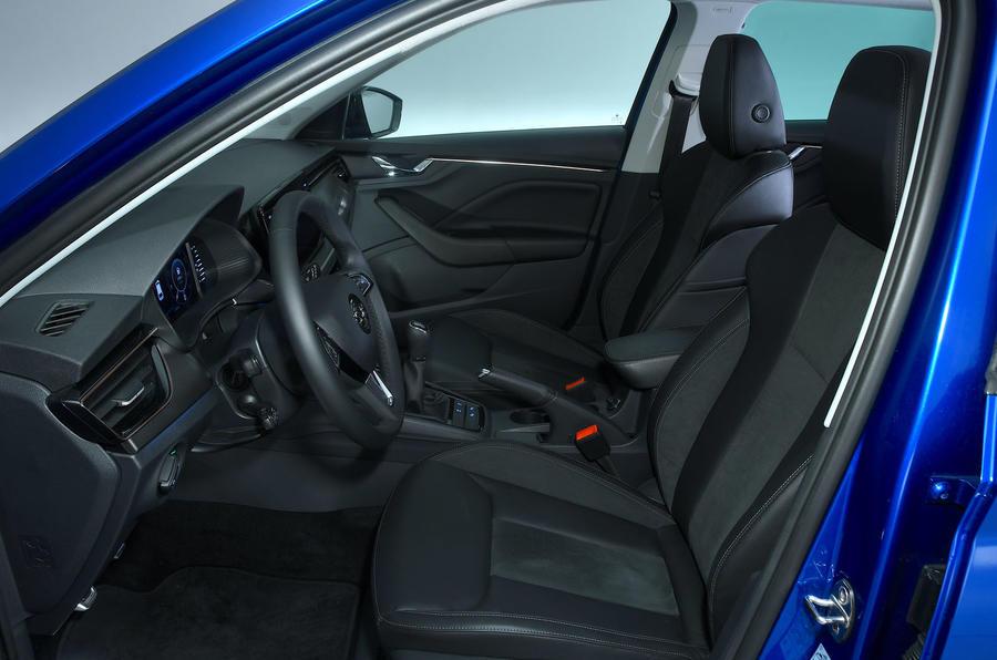 Skoda Scala 1.6 TDI 2019 UK first drive review - cabin