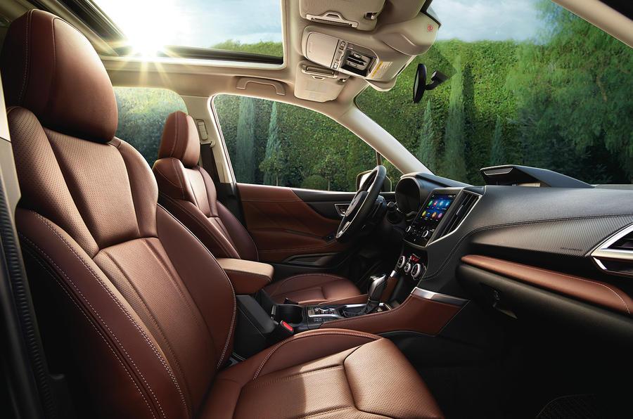 2020 Subaru Forester Turbo, STI, Hybrid >> Subaru Forester 2019 Review Autocar