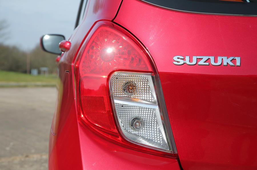 Suzuki Celerio - rear badge