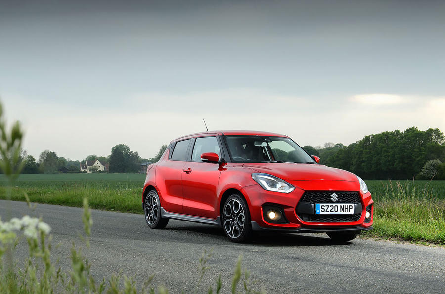 Suzuki Swift Sport hybrid 2020 UK first drive review - static front
