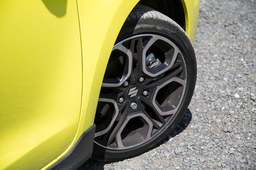 Suzuki Swift Sport 2018 long-term review alloy wheels