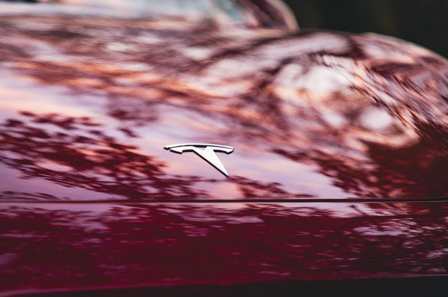 Tesla Model 3 Standard plus 2020 UK first drive review - nose badge