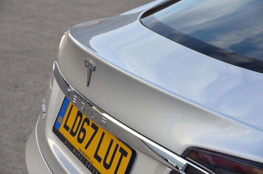 Tesla Model S 75D 2018 first drive review rear end