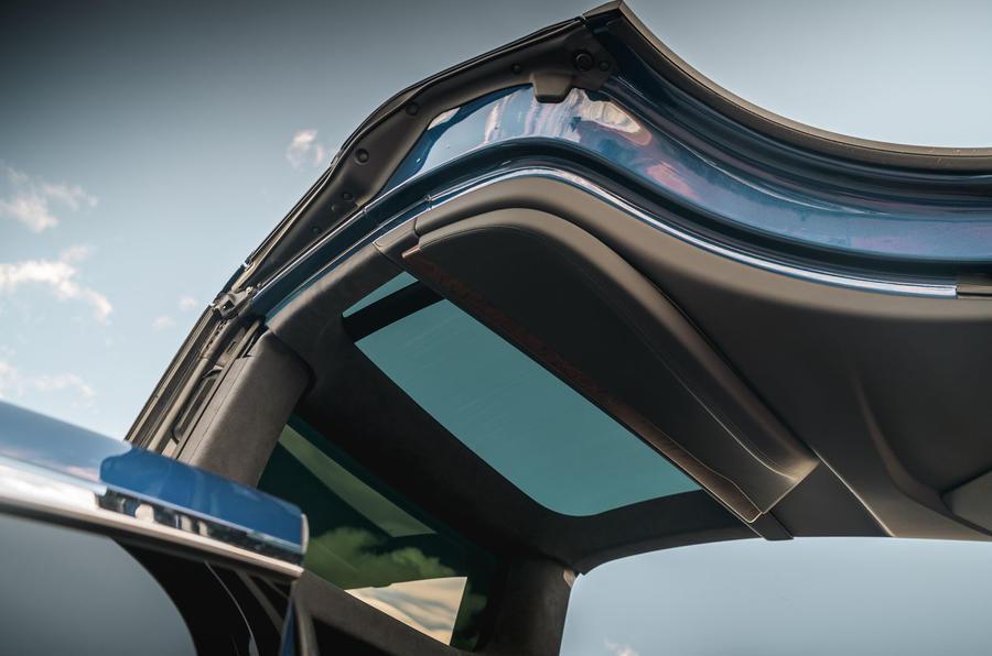 Tesla Model X Long Range 2019 UK first drive review - gullwing doors