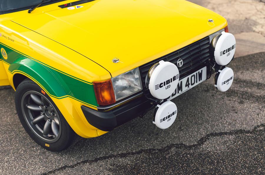 4 Tolman Talbot Sunbeam Lotus 2021 premier nez d'examen de conduite