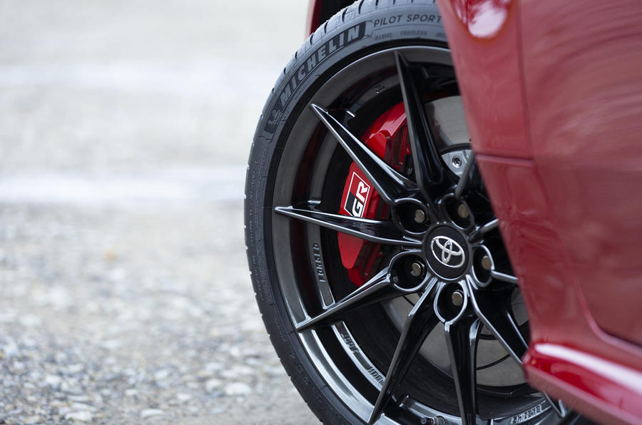 Toyota GR Yaris 2020 UK first drive review - alloy wheels