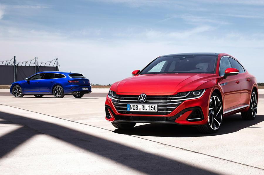 Volkswagen Arteon - static front