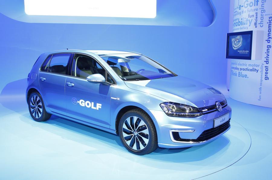 Volkswagen e-Golf - static front