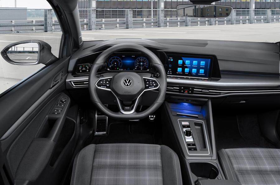Volkswagen Golf GTD 2020 first drive review - dashboard