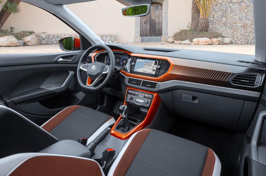 Volkswagen T-Cross 2019 first drive review - interior
