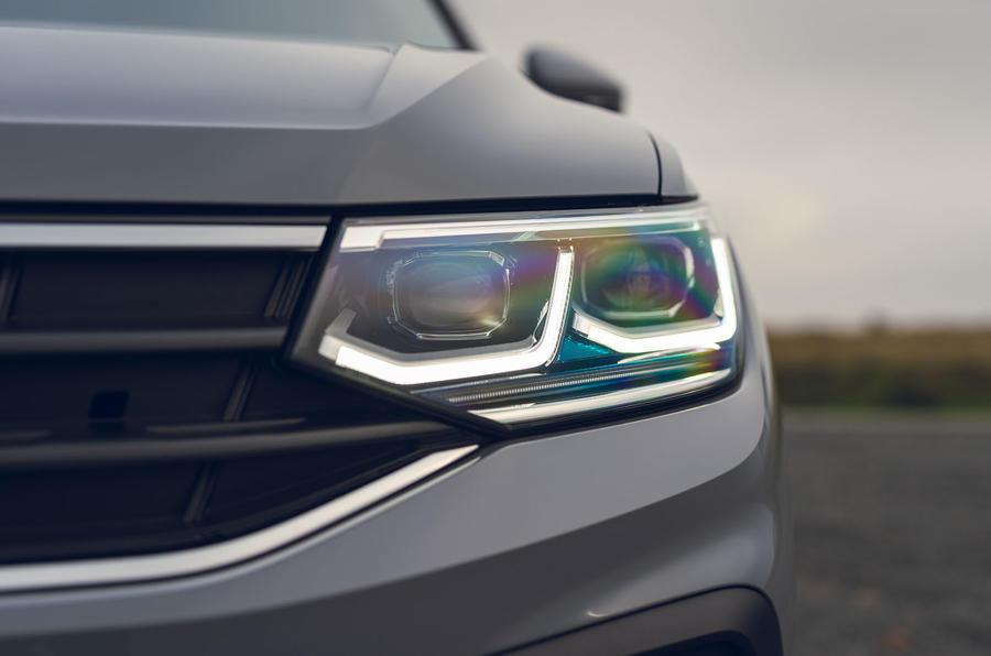 Volkswagen Tiguan Life 2020 : premier bilan de conduite au Royaume-Uni - phares