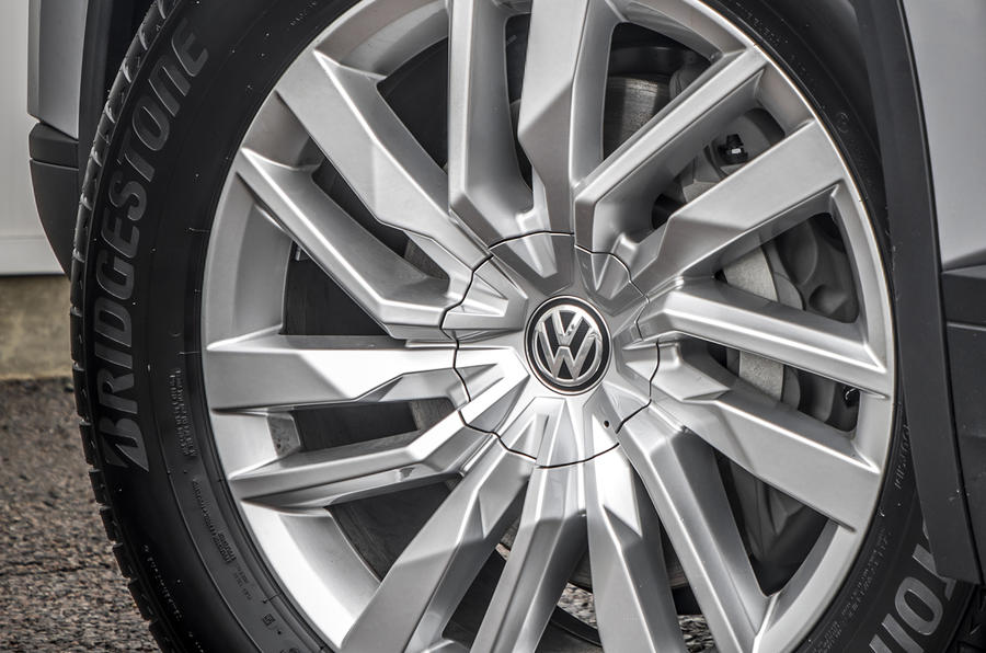 Volkswagen Touareg 2020 UK first drive review - alloy wheels