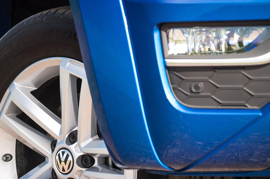 Volkswagen Amarok V6 2018 UK review wheels