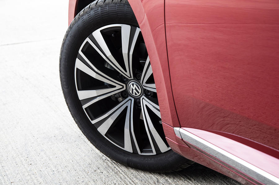 Volkswagen Arteon 2018 long-term review alloy wheels