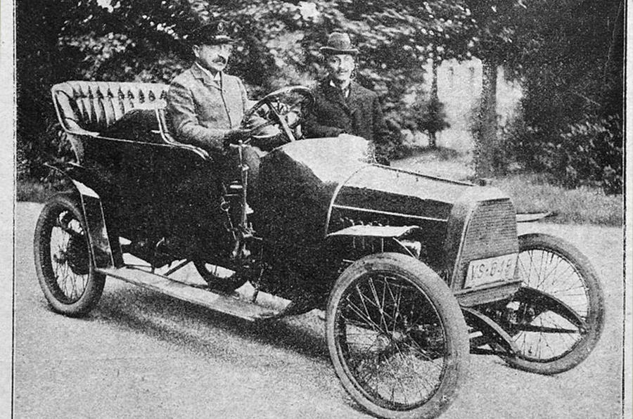 Opel 10hp - static front